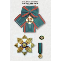 Set completo OMRI Gran Croce Decorato di Gran Cordone