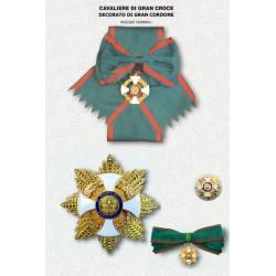 Set completo  OMRI Dama Gran Croce Decorata di Gran Cordone