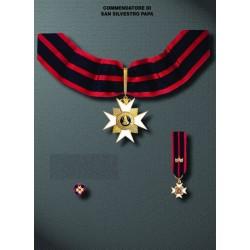 Set completo Commendatore S.Silvestro
