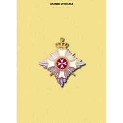Placca MM Militare Grande Ufficiale