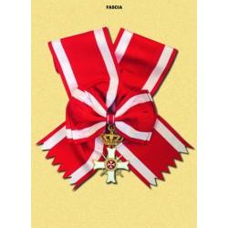 Ordinanza con Fascia MM Militare Gran Croce