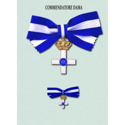 Set completo Commendatore Dama MS