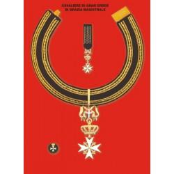 Set completo Gran Croce di Grazia Magistrale