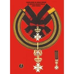 Set completo Gran Croce di Grazia Magistrale con Fascia