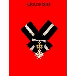Fascia con croce