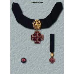 Set completo S.Sepolcro Commendatore