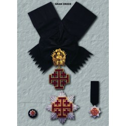 Set completo S.Sepolcro Gran Croce