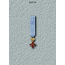 Miniatura  Cavaliere di Grazia CSG
